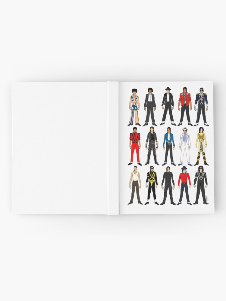 Alternate view of Outfits of King Jackson Pop Music Fashion Hardcover Journal
