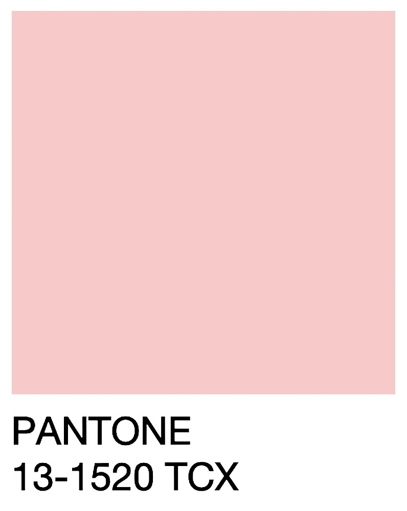 Pantone Rose Quartz By Lucyricardo Redbubble