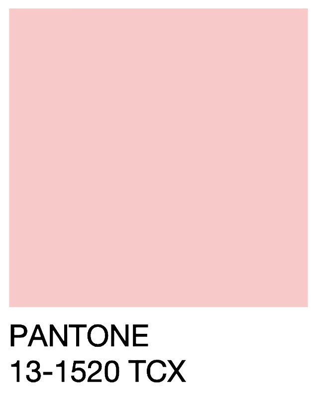"Bien connu Pantone - Rose Quartz"" Stickers by LucyRicardo 