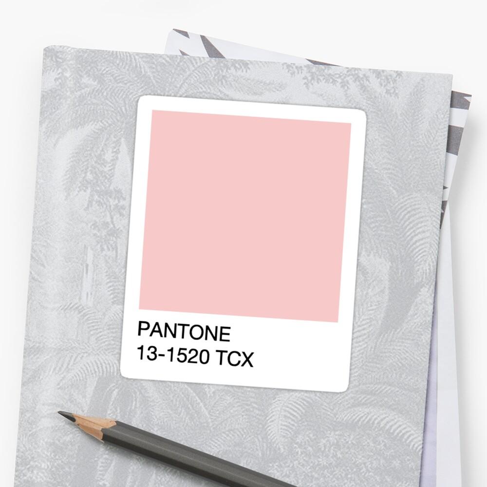 Pantone - Rosenquarz Sticker