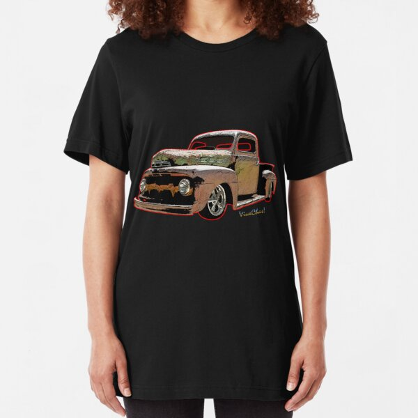 Ratty Ford Pickup T-Shirt Slim Fit T-Shirt