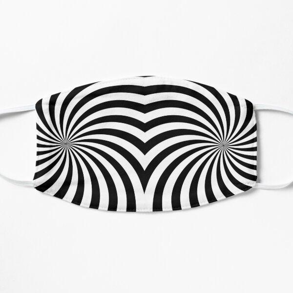 Hypno Spiral Flat Mask