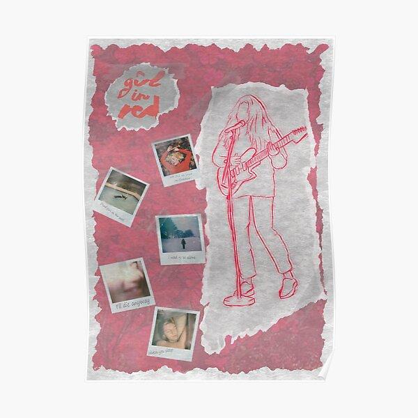 mit dem Cover der meisten Songs im Polaroid-Bildformat Poster
