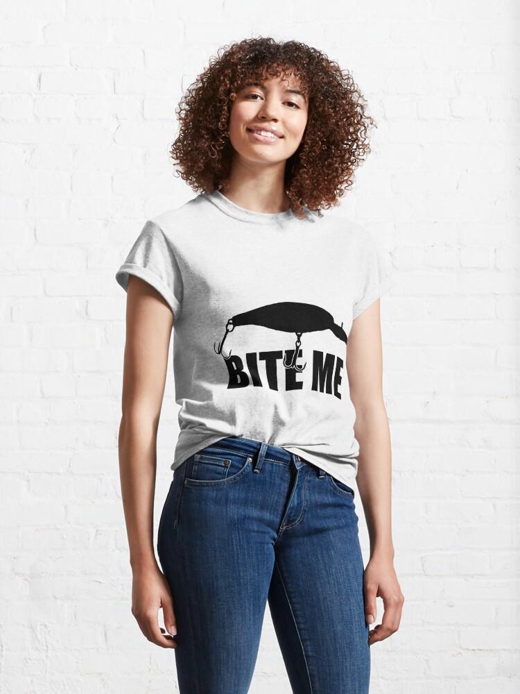 Alternate view of Bite Me Classic T-Shirt