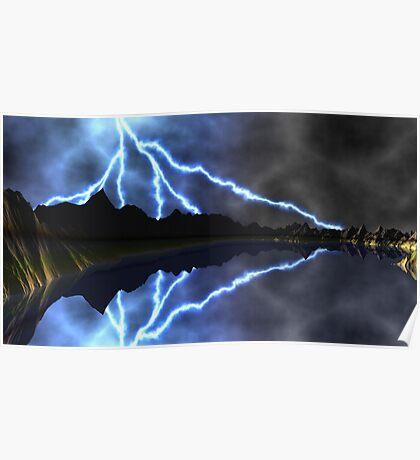 Thor's Hammer Poster