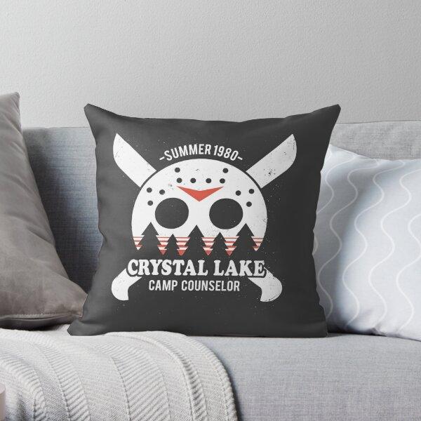 Camp Crystal Lake Counselor Throw Pillow