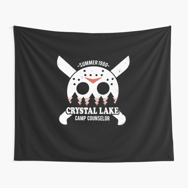 Camp Crystal Lake Counselor Tapestry