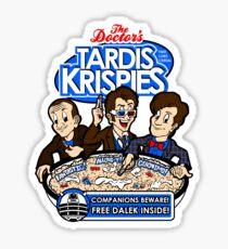 Tardis Krispies Sticker