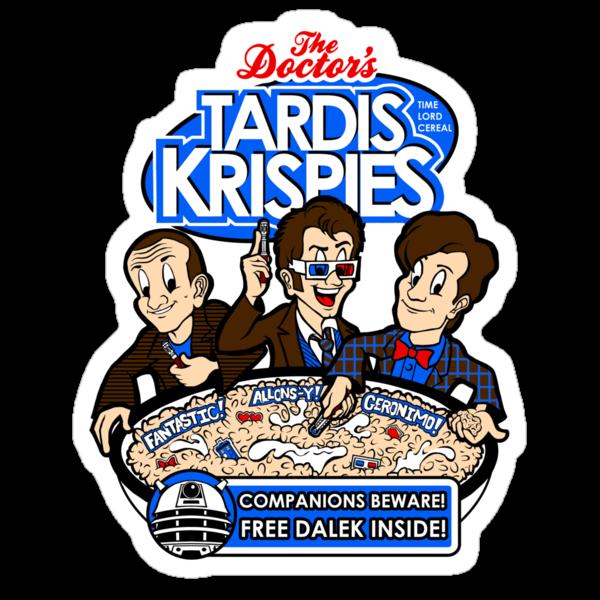 Tardis Krispies by ShayLeiArt