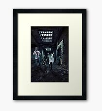 Brains !!!! Framed Print