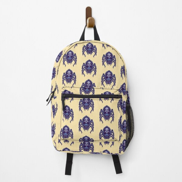 Spider Skull Illustration Backpack