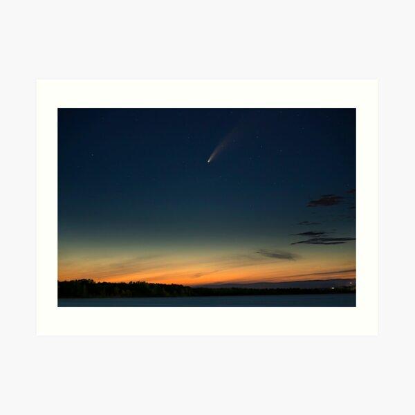 Comet Neowise Art Print