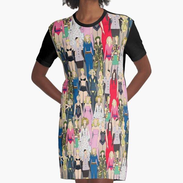 Madonna-A-Thon Graphic T-Shirt Dress