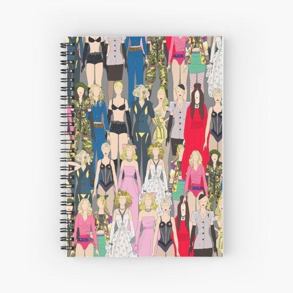 Madonna-A-Thon Spiral Notebook
