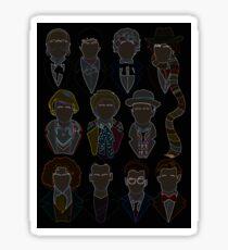 All 11 Doctors Sticker