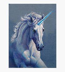 Jewel the Unicorn Photographic Print