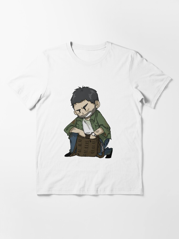 Alternate view of Joel- The Last Of Us Essential T-Shirt