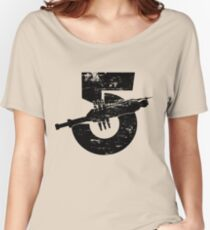 Babylon 5 Vintage (Black) Women's Relaxed Fit T-Shirt