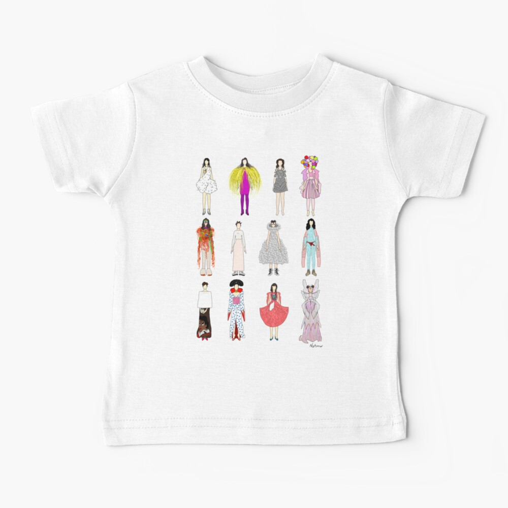Outfits of Bjork Fashion Baby T-Shirt