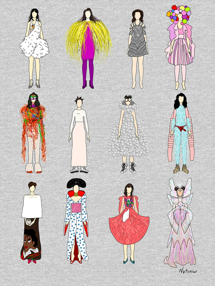 Outfits of Bjork Fashion by notsniwart