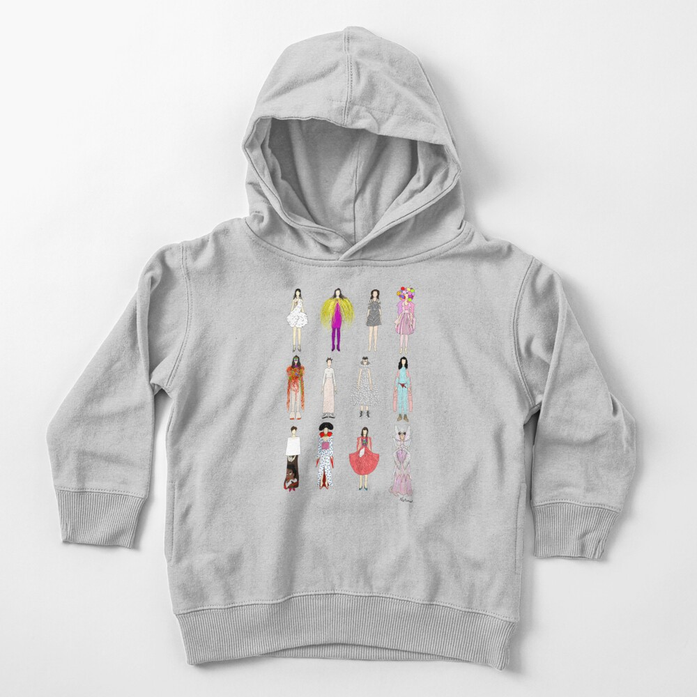 Outfits of Bjork Fashion Toddler Pullover Hoodie