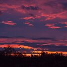 Sunset over the Gold Coast by Danielle Espin