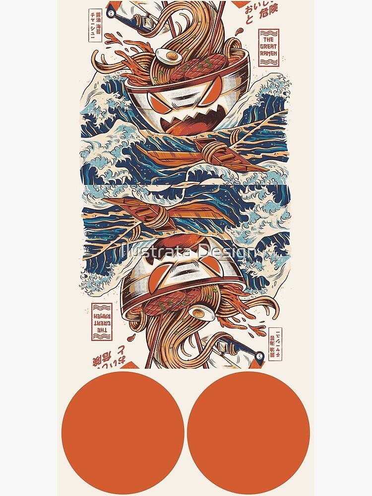 The Great Ramen off Kanagawa by ilustrata