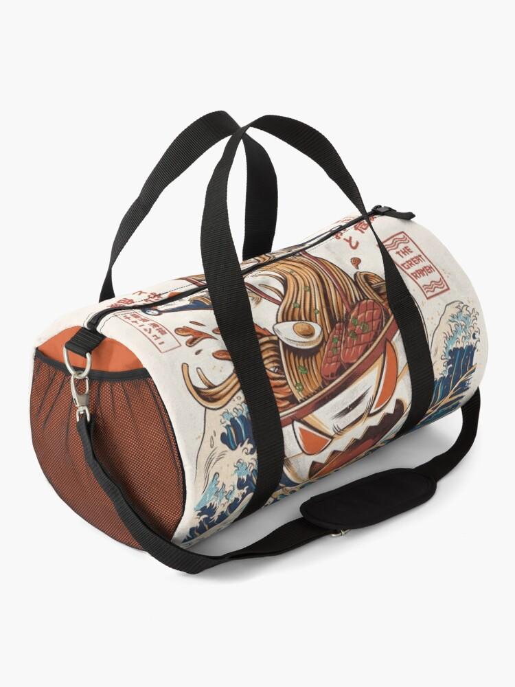 Alternate view of The Great Ramen off Kanagawa Duffle Bag