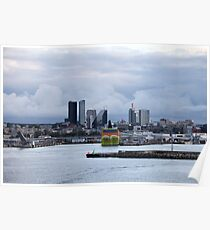 Tallinn port Poster