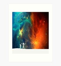 Rick and Morty - Star Viewing 3 Art Print