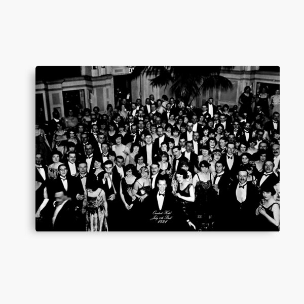 Overlook Hotel, July 4th Ball, 1921 Canvas Print