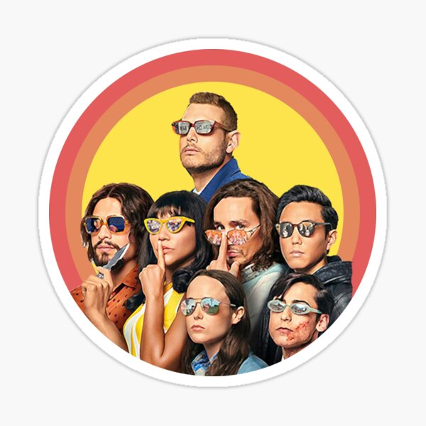 Umbrella academy 2 - 2020 - Netflix Fan made Sticker