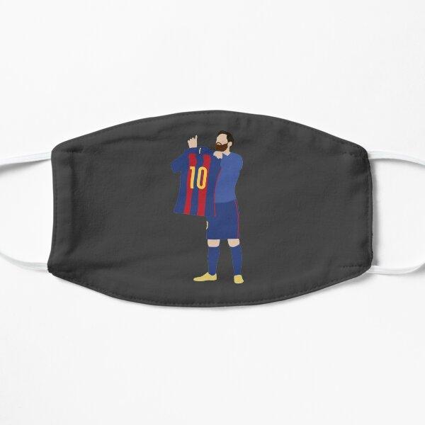 Lionel Messi. Barcelona. Flat Mask