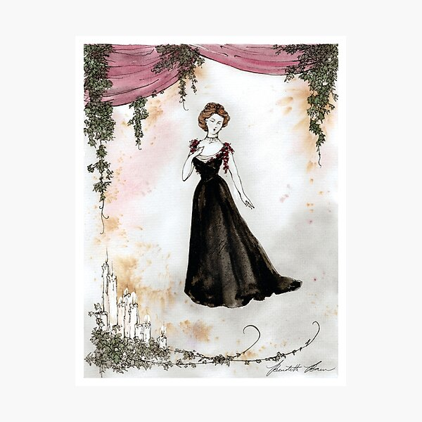 1890s Gown Photographic Print