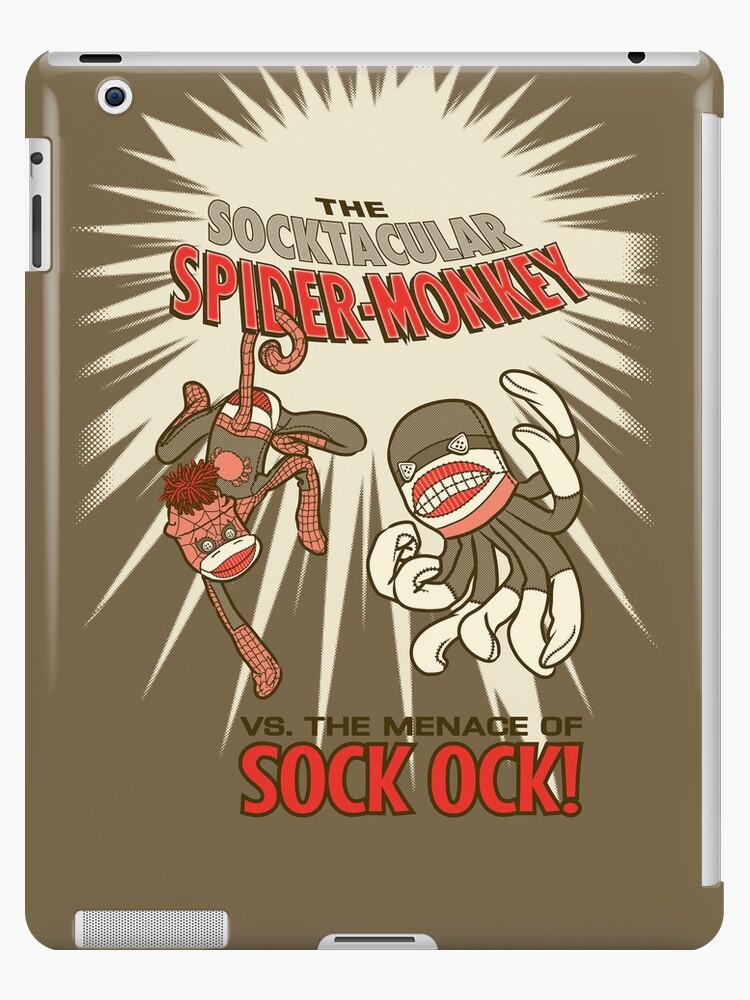 Socktacular Spider-Monkey by MrNoon