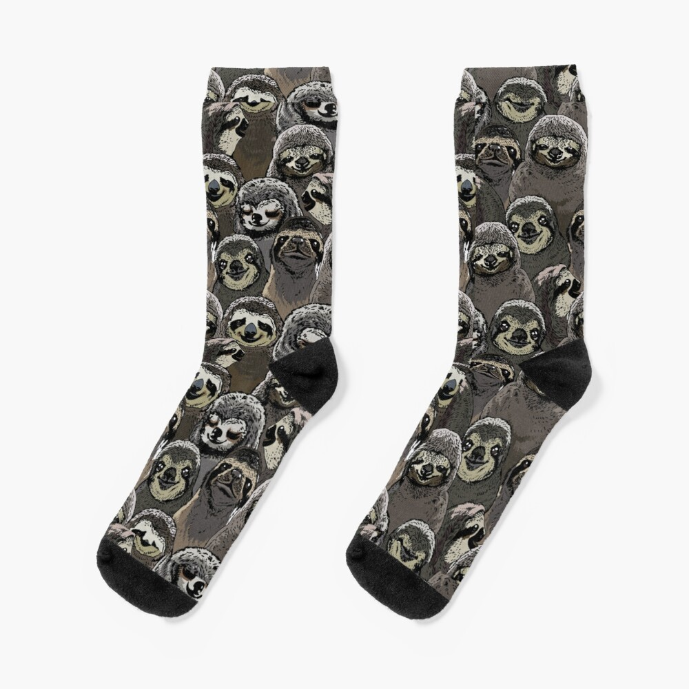 Social Sloths Socks