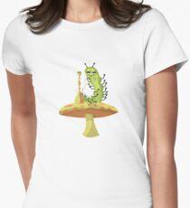 Hookah Smokin' Caterpillar Women's Fitted T-Shirt