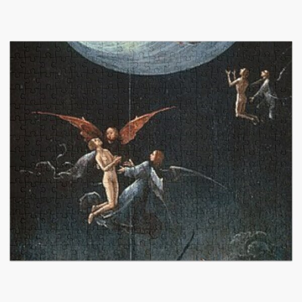 Hieronymus #Bosch #HieronymusBosch #Painting Art Famous Painter   Jigsaw Puzzle