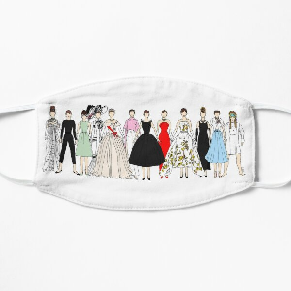 Audrey Group Fashion Flat Mask