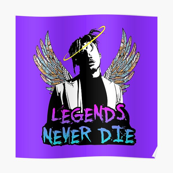Legends Never never die Poster