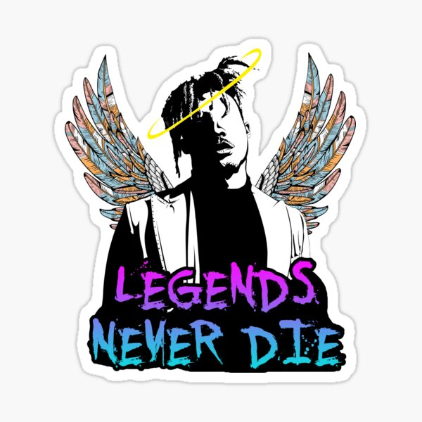 Legends Never never die Sticker