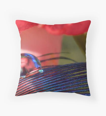 Born to Blue Throw Pillow