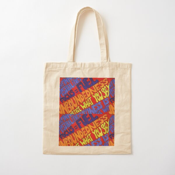 Quantum Shift (Law of Attraction Inspirational words) Cotton Tote Bag