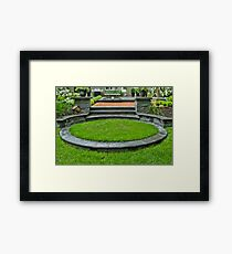 Flourishes Continued Framed Print