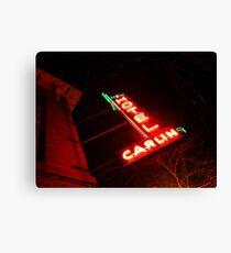 Hotel Carlin Canvas Print