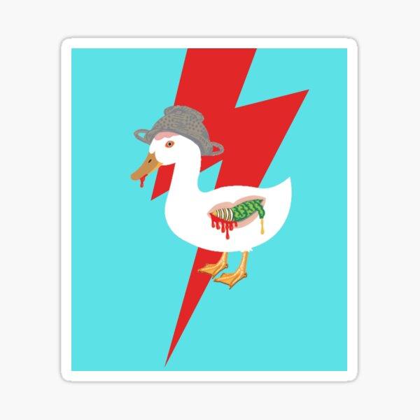 Zombie Duck, always weaponized! Sticker
