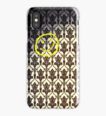 Smiley with Bullet Holes iPhone Case