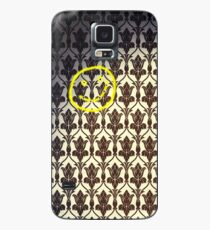 Smiley with Bullet Holes Case/Skin for Samsung Galaxy