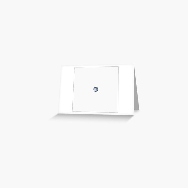 Inverted Moon Greeting Card