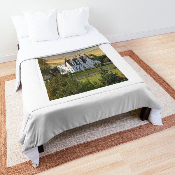 Tranquil Scottish Highlands House  Comforter